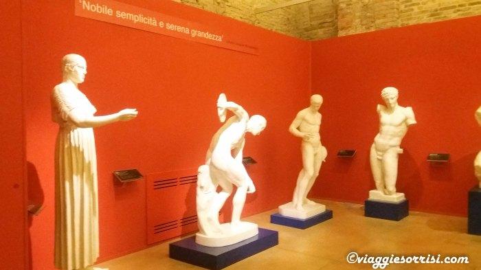 Le statue greche del Museo Tattile